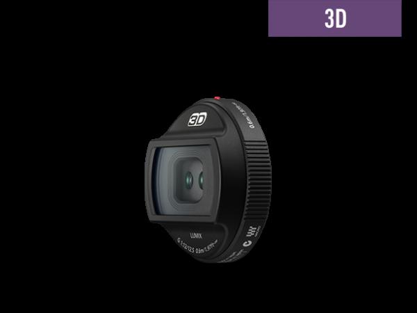 Panasonic Lumix 12mm f2.5 3D Objektiv