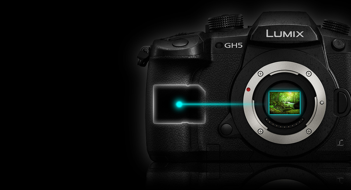 Panasonic_LUMIX-G-Wechselobjektivkamera_DC-GH5_Weltpremiere_Interne-4zu2zu2-10-Bit-Aufnahmen