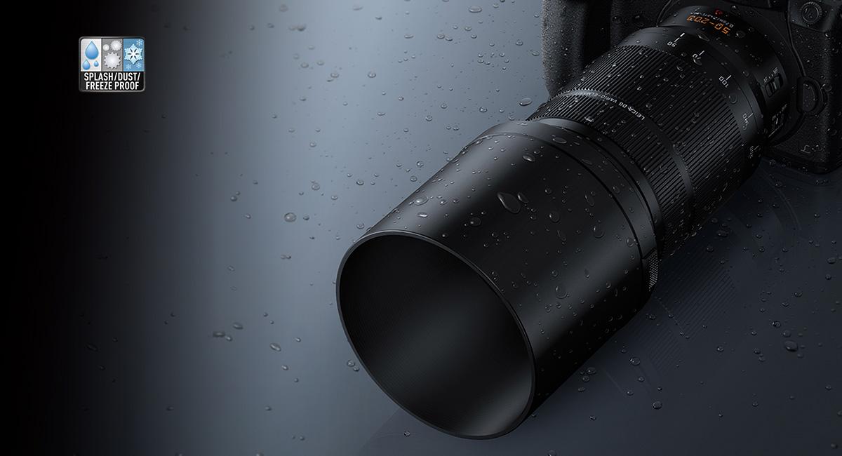 Panasonic-LUMIXG-Objektiv-H-ES50200-Wind-und-Wetter