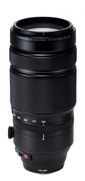 FUJIFILM XF 100-400mm F4.5-5.6 R LM OIS WR + TC XF1.4x