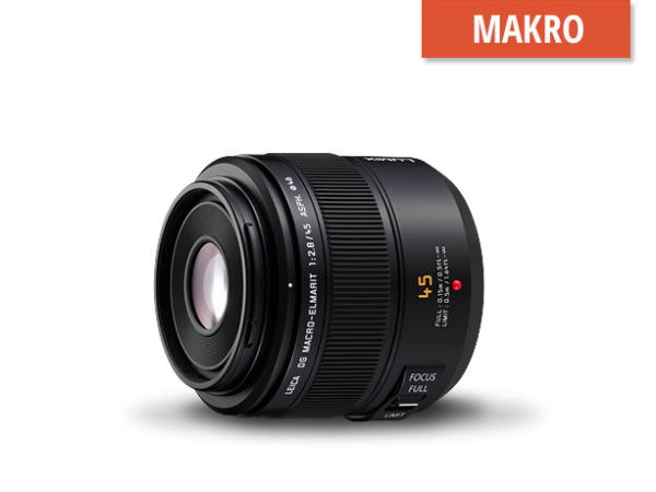 Panasonic Lumix 45mm f2.8 Leica Elmarit Makro