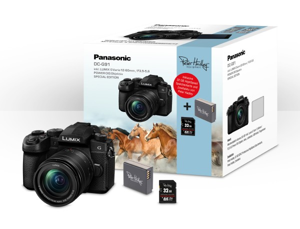 Panasonic DC-G91 inkl. 12-60mm Special Edition