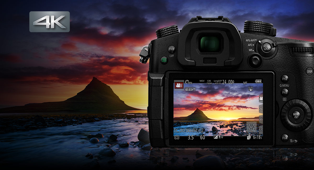Panasonic_LUMIX-G-Wechselobjektivkamera_DC-GH5_Reibungslose-4K-Videoaufnahmen