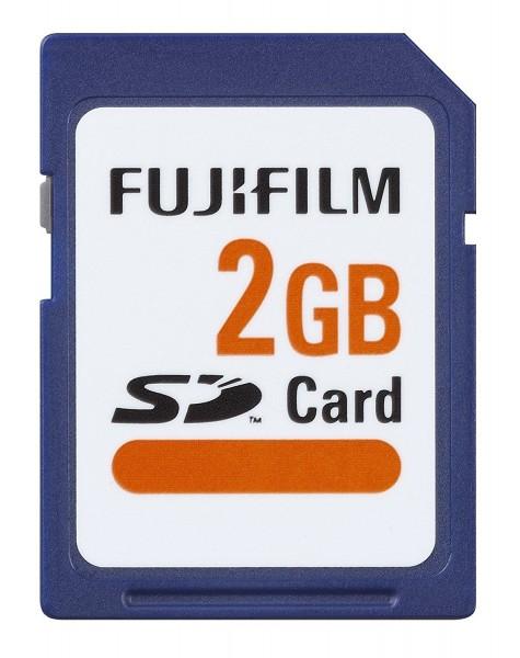 FUJIFILM SD Karte 2GB
