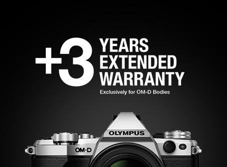 Olympus OM-D Extra Garantie +3